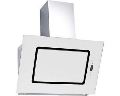 hotte DE cuisinière verre blanc 60cm Dôme sans tête Capot plongeant circulant