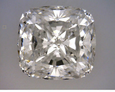 GIA certified Diamond 1.00 carat t.w. Cushion cut F color VS1 clarity loose