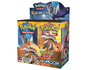 Pokemon Sun & Moon Booster Box & Elite Trainer Now Available