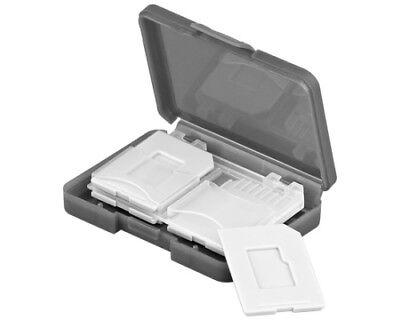 Aufbewahrungsbox / Transportbox für Speicherkarten - 4x SD Karte