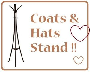 EQ3 Coat Rack in ESPRESSO BROWN (GORGEOUS!!) --- $50 Only !!