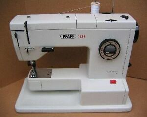LOOKING FOR OLDER PFAFF SEWING MACHINE MODEL1222!