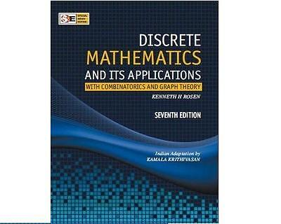 Discrete Mathematics and its Applications 7E, Kenneth H Rosen *INTL ED*