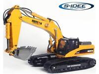 Motor für Schaufelspindel für Huina 1580 Vollmetall-Bagger 580 Kettenbagger 1:14