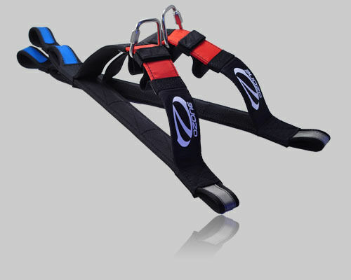 Ozone Tandem Spreader Bar with Ear Blockers - pair for Paragliding Paramotor