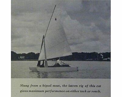 12' Hobie Cat classification Sailboat How-to build PLANS Catamaran King Kat