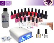 UV Gel Nail Kit with Lamp