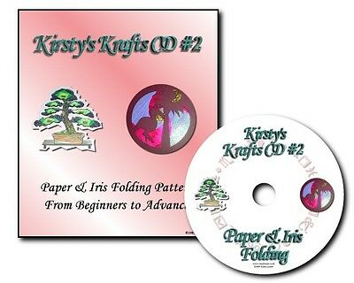 Kirstys Krafts Iris Folding CD 2 - Templates, Patterns & Card Gallery.