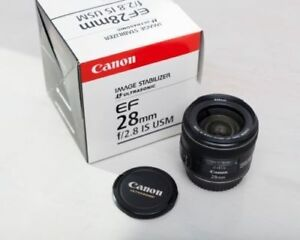 CANON SUPER WIDE ANGLE 28mm 2.8 IS USM Mint
