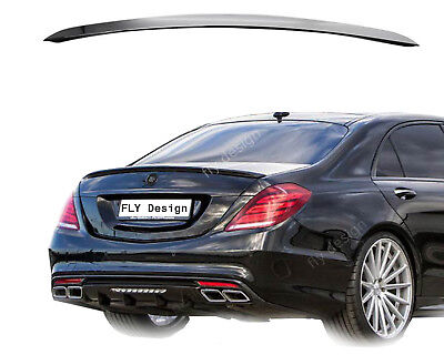 für Mercedes s-klasse w222 heckspoiler abs amg s500 s300 ObsidianSchwarz 197 neu