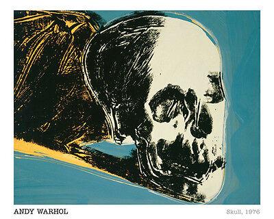 Skull, 1976 Andy Warhol - Offset  Print 16 x 20