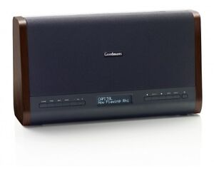 Goodmans-Retro-Portable-DAB-FM-Digital-Radio-Dual-Alarm-Clock-Remote-Control