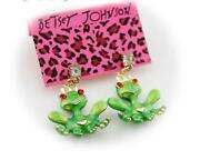 Betsey Johnson Frog