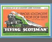 Flying Scotsman Postcard