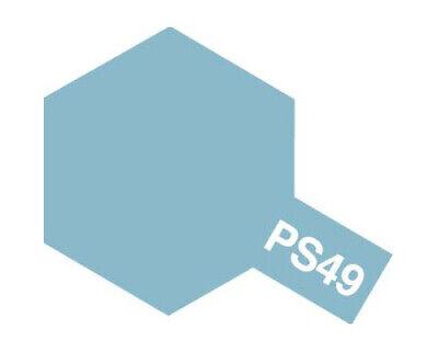 Tamiya 86049 Polycarbonate Spray PS49 Sky Bleu Anodized 100ml Modélisme