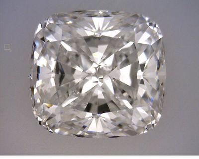 3 carat Cushion cut Diamond GIA certificate H color SI1 clarity loose