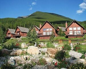 One week accommodation in Canmore - Banff