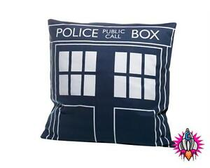 OFFICIAL DR DOCTOR WHO TARDIS POLICE BOX CUSHION PILLOW