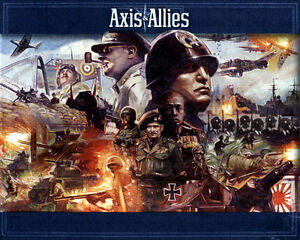 AXIS & ALLIES CONTROL THE FATE OF THE WORD LIKE NEW