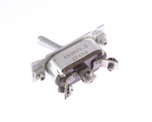 Panel Mount Switch 25A 28 VDC 15A 115 VAC 25 Amp 15 Amp AN3022-3 SPDT 8210K7