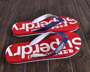 Mens SUPERDRY Flip Flops