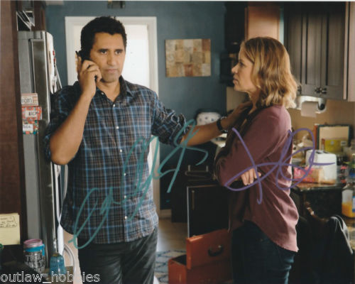 Cliff Curtis Kim Dickens Fear Walking Dead Autographed Signed 8x10 Photo COA #1