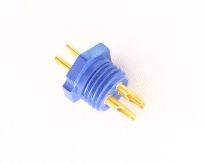 1x 4 Pin Basic Male Miniature Hexagonal Panel Connector Plug 126 Series 126-1427