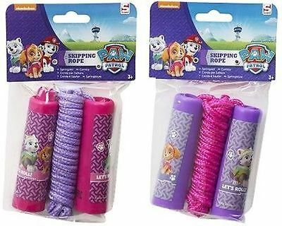 PAW PATROL Nickelodeon Skye Everest Kids Girls Skipping Rope Jump Summer FUN New