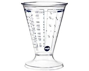 Emsa Messbecher, 0,5 Liter, Transparent, Superline, 157367