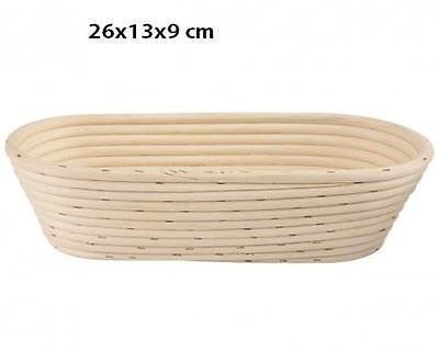 GÄRKORB Gärkörbchen Brotteig Gärkörbe Korb Brotform Peddigrohr oval 1,0 kg C188