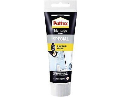 Pattex Montagekleber SPECIAL für Glas,Spiegel und Metall, 80 g