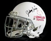 Autographed Full Size Football Helmet
