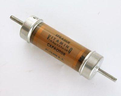 .01uf 10000v High Voltage Oil Capacitor Vitamin Q 10000v .01mfd 10000vdc Dc