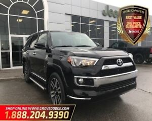 2016 Toyota 4Runner Limited| Low KM| Sunroof| Leather| AUX