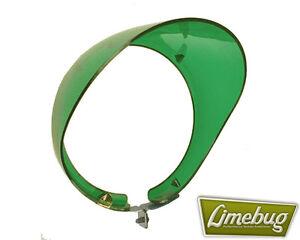 Mooneyes-Wing-Mirror-Fender-Visor-Green-Round-4-VW-Beetle-Buggy-Hotrod-T1-T2