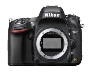 Nikon D610 FX Body with Battery Grip