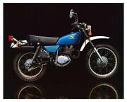 Honda XL 250 Motorcycle