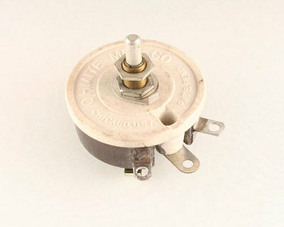 New 1 Pcs. Of 8ohms 50watt Ohmite Rheostat. 8 Ohm 50 W Rp151sd8r0kk