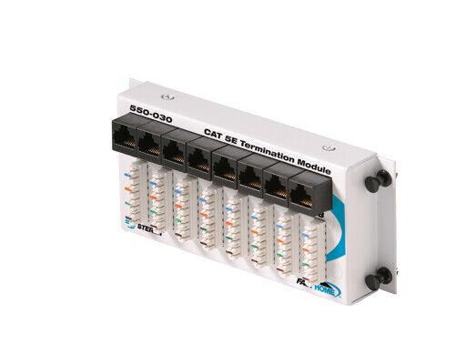 Steren FastHome Data Hub, 8 Port Network Hub, Distribution Block - Cat 5E