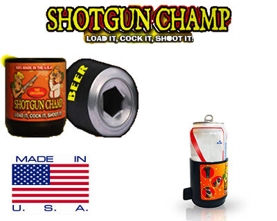 Shotgun Champ  -  BEER BONG FOR CANS - Shotgun Beer in 3 sec. - Made in USA