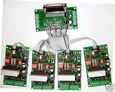 4-axis Tb6560 Cnc Driver Board 4 Stepper Motor Router