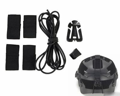 Helmet Bungee Cargo System for OPS-Core FAST, Team Wendy EXFIL, (Bungee System)