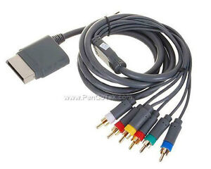 Component Video and Audio HD AV Cable for Xbox 360