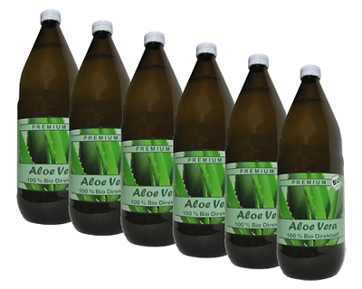 6 Liter (EUR 8,75 / L) BIO Aloe Vera Saft 100% DIREKTSAFT IASC  #110#