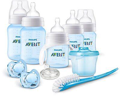 Philips AVENT Anti-Colic Bottle Newborn Starter Set Blue