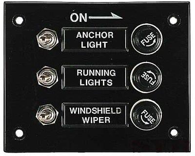 Tablero Eléctrico Panel Interruptores 3-fach Horizontal de Circuito Impermeable