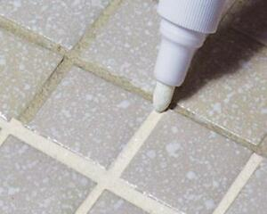 how to grout bathroom floor tiles tile white grout pen whitener restorer reviver kitchen 25403