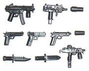 Lego Pistolen