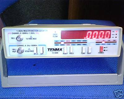 Tenma 72-5000 1.3 Ghz Multifunction Counter
