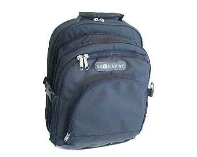 Laptop Notebook Rucksack (Laptop Rucksack viele Fächer schwarz Kurzreisen Notebook praktisch Tablet)